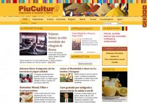 Piuculture.it è un giornale online che racconta i migranti che vivono nel Municipio II di Roma e gli eventi dedicati all'intercultura