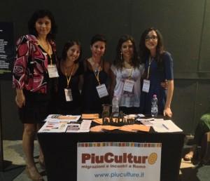 Le redattrici del giornale online Piuculture.it all'evento di chiusura di Luglio Suona Bene all'Auditorium - agosto 2014